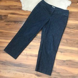 💎 Halogen Taylor Fit Capri Jeans Size 10